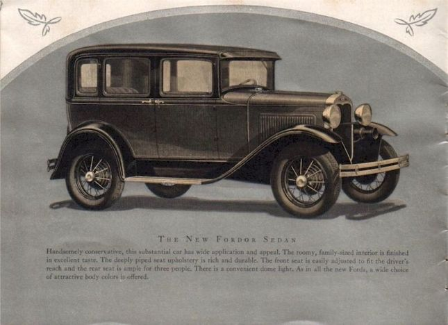 "(Ford sedan ""Beauty"" modelo 1930. Recuperado de http://oldcarbrochures.org/NA/Ford/1930_Ford/1930_Ford_Beauty_Brochure/1930-Ford-Beauty-06 )"