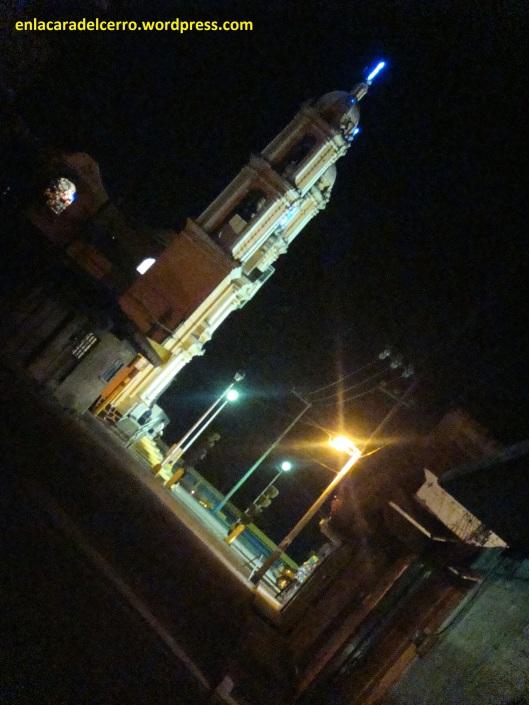 """(""""A las diez y minutos de la noche"""". Foto: M.S.)"""