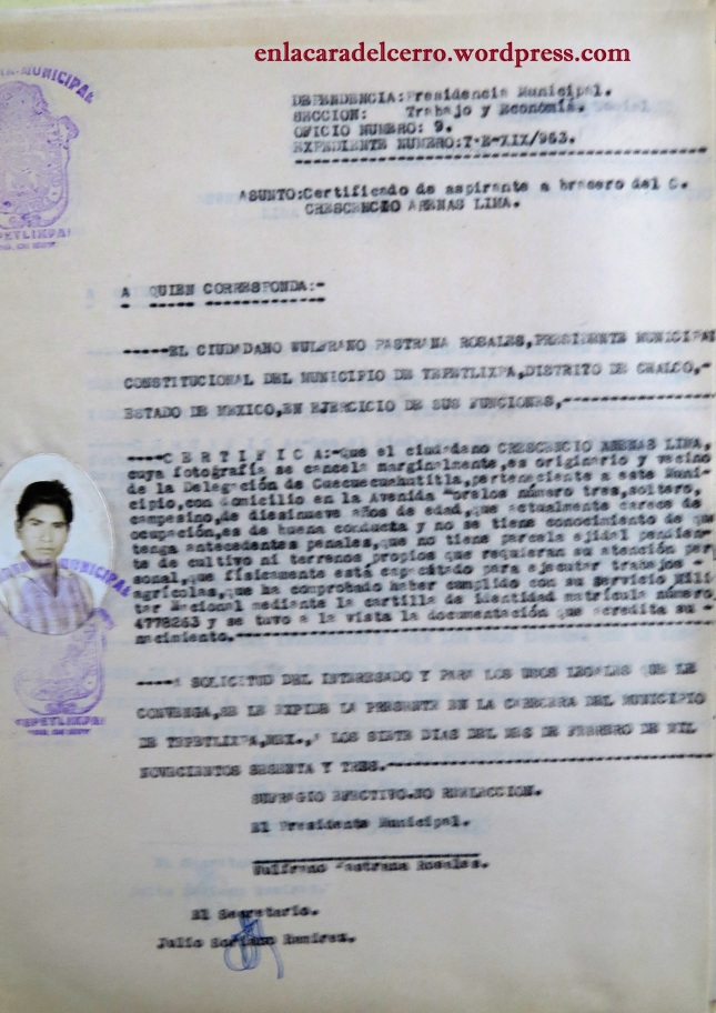 (Los certificados. Riqueza patrimonial de nuestro archivo histórico municipal. Foto: M.S.)
