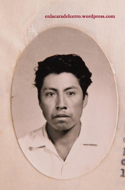 (El joven Epifanio Álvarez. Foto: M.S.)
